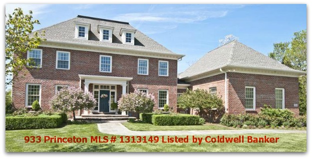 933 Princeton Dr Listed by Coldwell Banker
